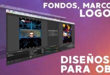 Photo of Agregar fondos, marcos, logos y transiciones a OBS para transmisión en Instagram Tutorial en Español